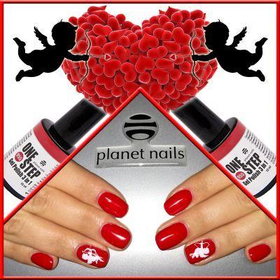 Amour Angels  Гель-лак «One Step» Planet Nails Слайдер дизайн «Planet Nails»