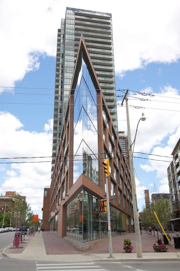 Toronto's Distillery District Entrance