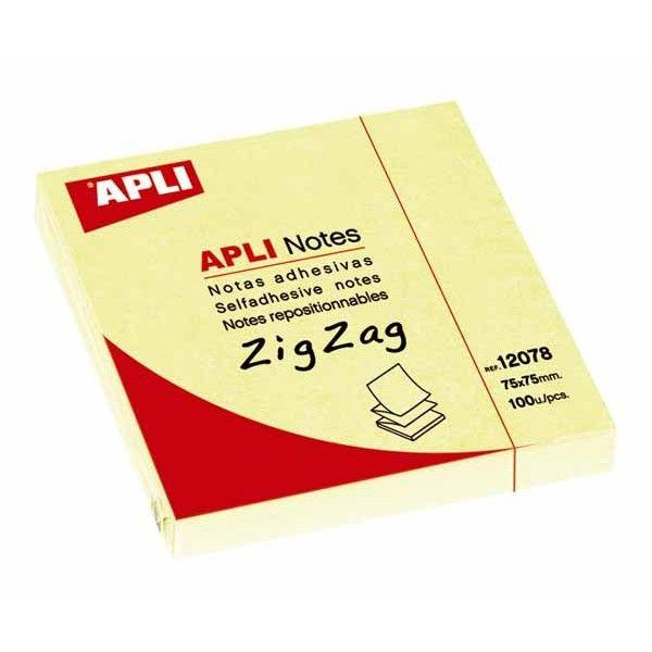 Comprar bloc 100 hojas notas en zig-zag 12078  #oficina #tienda #notas #indices #adhesivas #colores #rollo #bloc #taco