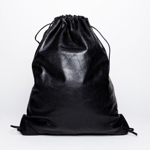 Style - Minimal + Classic : Alexander Wang Leather Gym Bag