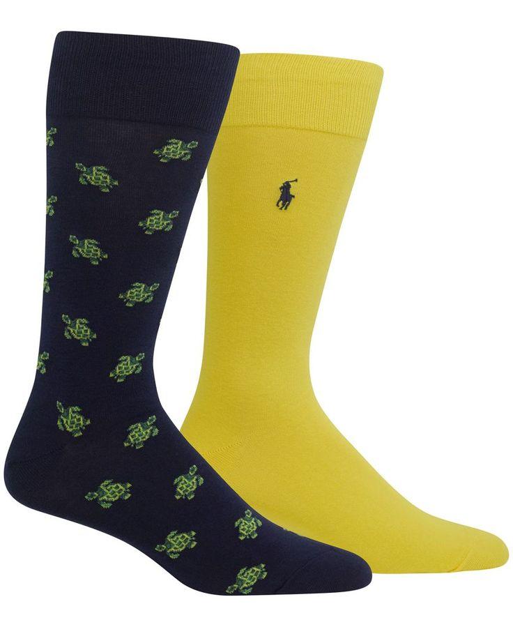 Polo Ralph Lauren Men's Big & Tall 2 Pack Socks