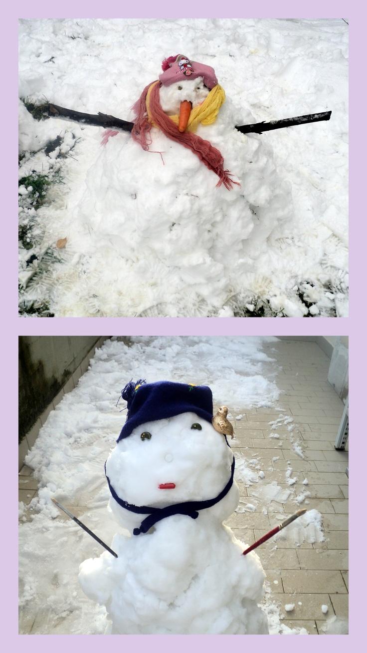 la nostra nevicata