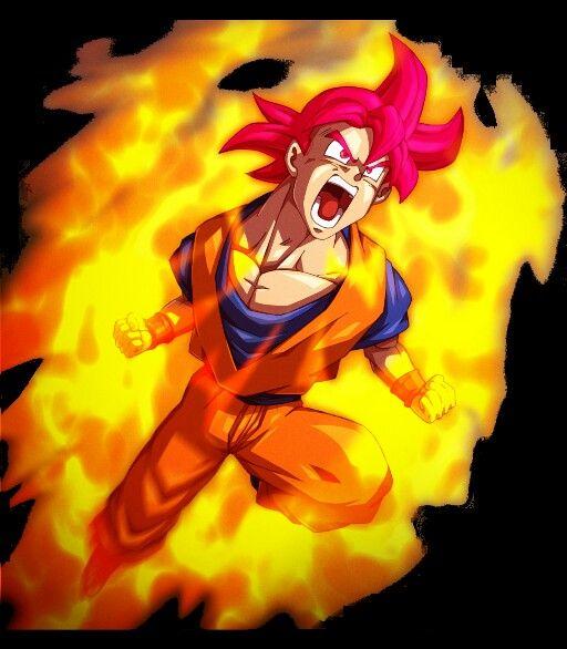 Goku ssj dios