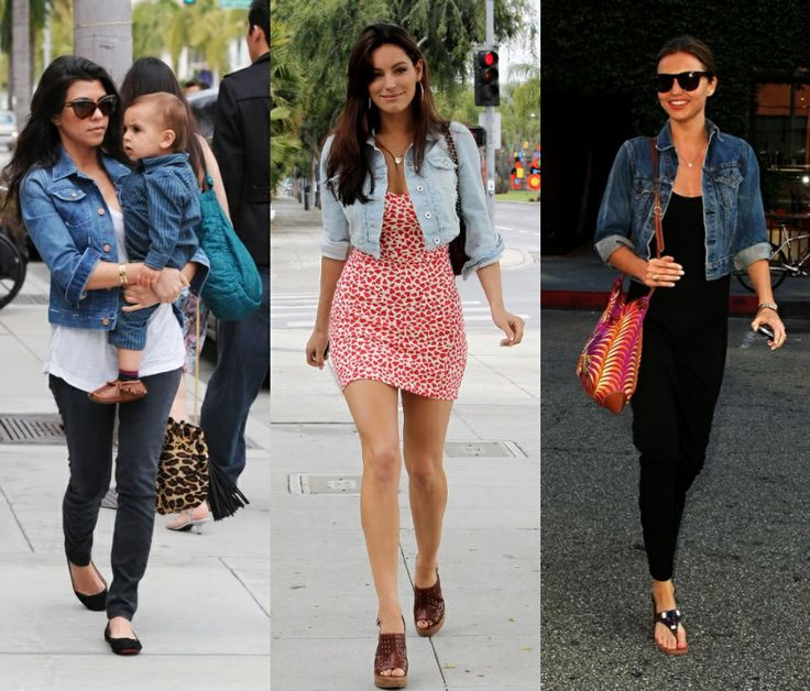 1000  images about Jean jacket on Pinterest | Black lace skirt
