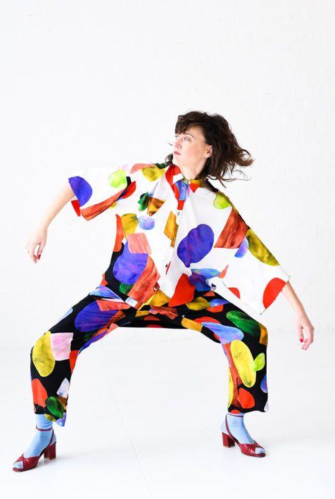 Mara Hoffman Fall 2017 #MaraHoffman #painterly