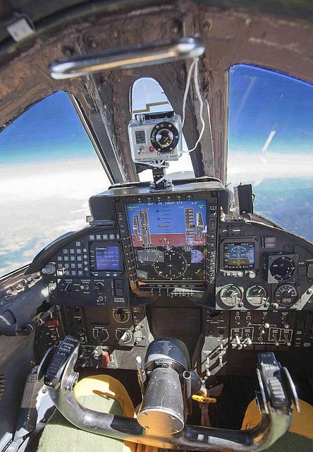 Climbing to 70,000 feet in a U-2 Spy Plane