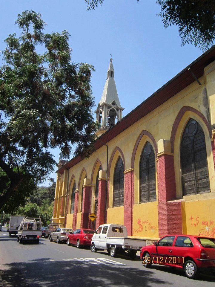 Barrio Yungay, Santiago, Chile.