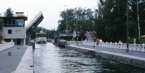 Vääksy canal is unique waterway in Asikkala, Finland. It connects two lakes, Vesijärvi and Päijänne, and it is 1,3 kilometres long.    What a nice boating route!  #boat #canal #finland #experience