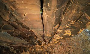 Moab rock climbing, Utah won 1st place in sport and adventure