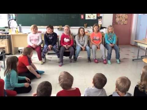1 lk Lause, sanavälit ja sanojen tavutus - YouTube