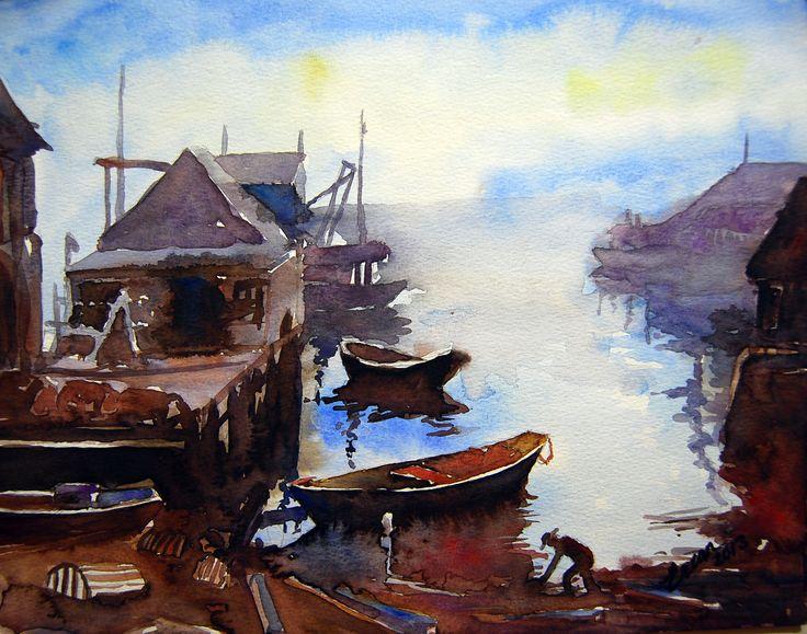 The Quiet harbour &The Fisherman