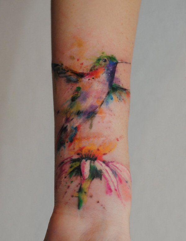 手机壳定制chrome hearts bracelet mens Hummingbird watercolor blossom tattoo    Awesome Forearm Tattoos  lt  lt
