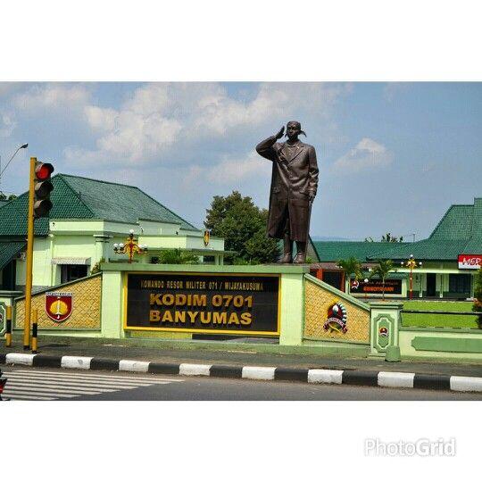 Kodim 0701 Banyumas Purwokerto Jawa Tengah Indonesia.