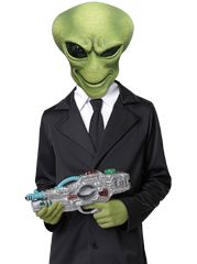 Kids Alien Agent Costume