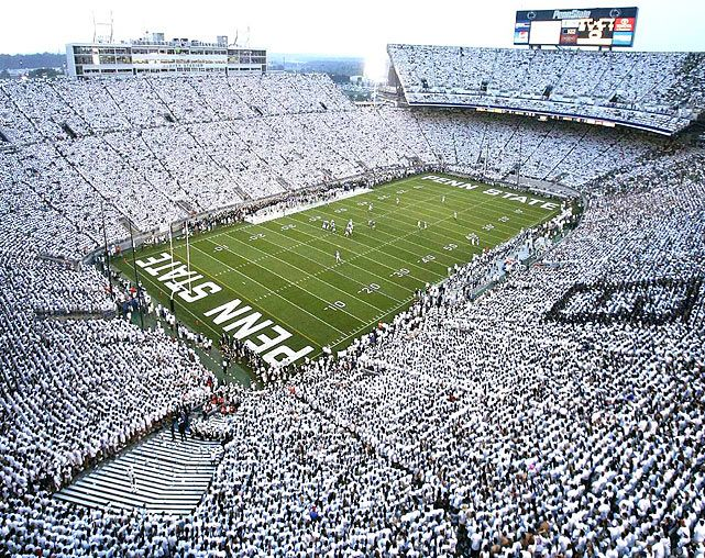 Penn State football - white out