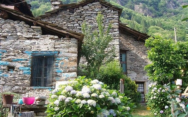 For sale: Italian alpine village for £195,000 A mountain village in Italy is offered for sale on eBay, with the few remaining inhabitants ho...
