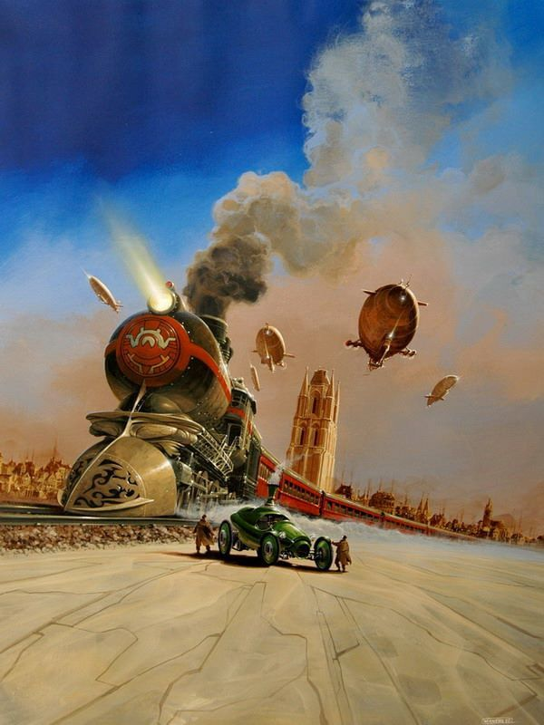 Manchu (Phillipe Bouchet) is a French science fiction artist, born in 1956…