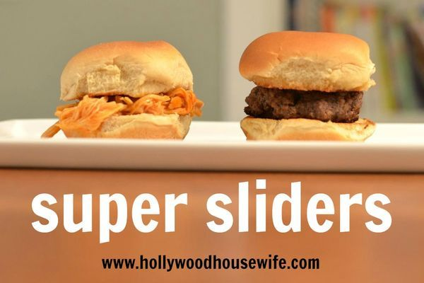 Super sliders | hollywood housewife