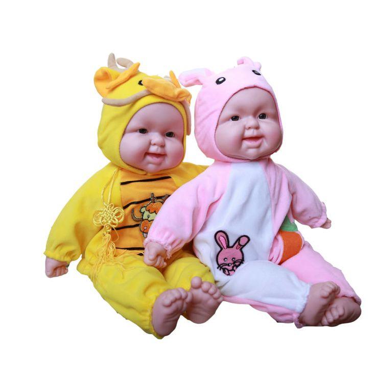 12 Стили Животных Зодиака Кукла Моделирование Смех Силикона Возрождается Смеясь Куклы детские Игрушки Подарок На День Рождения Для детей #jewelry, #women, #men, #hats, #watches, #belts