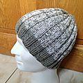 Tutoriel bonnet tricot en côtes 3/3 pour homme ou femme