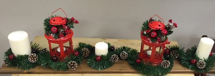 Decorazioni per la tavola di Natale