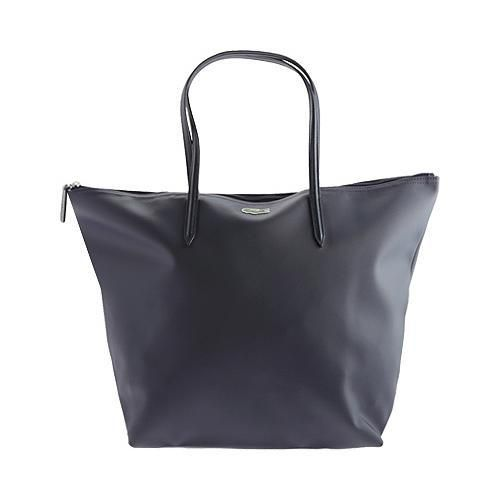 Women's Lacoste L.12.12 Concept Travel Shopping Bag Shadow