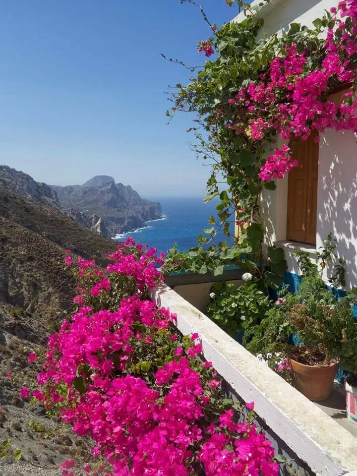 House in Olympos village, Karpathos , Greece