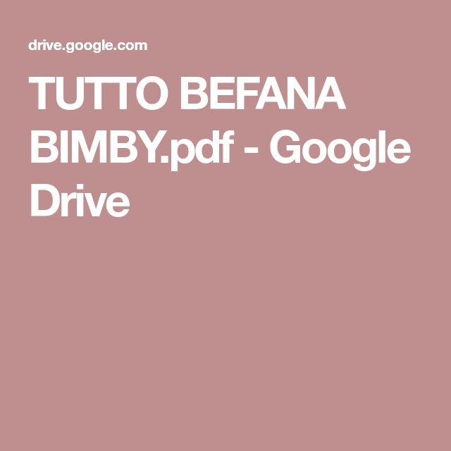TUTTO BEFANA BIMBY.pdf - Google Drive