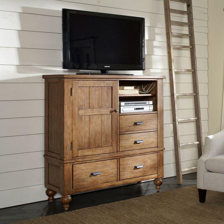 Riverside Furniture Summerhill 4 Drawer Media Chest U0026 Reviews | Wayfair