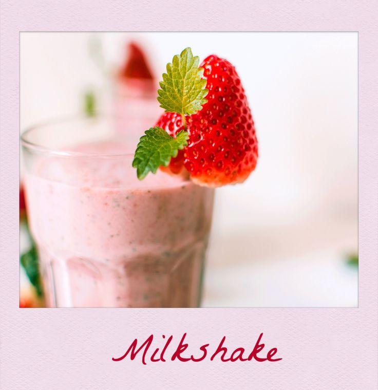 #Strawberry #Milkshake. #PolaroidFx #Polaroid #Drink #Milk #Dessert #Fruit #Food #Sweet #Sugar #Homemade #Yummy
