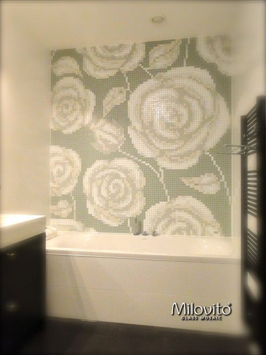 20170316&163047_Mozaiek Bloemen Badkamer ~ 1000+ images about Badkamer on Pinterest  Toilets, Tes and San