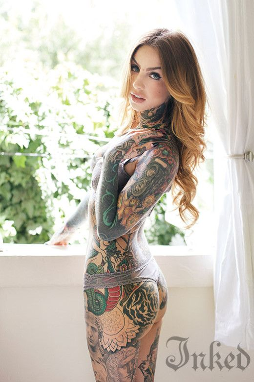 Little linda inked magazine pinterest for Little linda tattoo