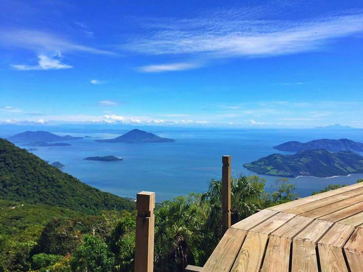 Vista del Golfo de Fonseca desde el volcán Conchagua, La Unión. Cortesía de #elsalvadortravel