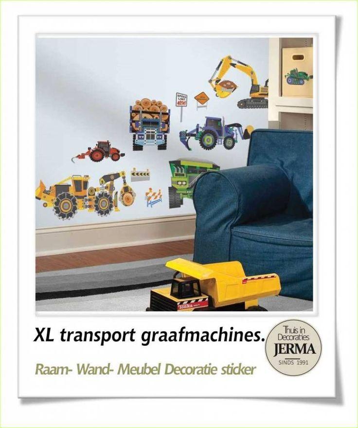 17 beste idee n over vrachtwagen kinderkamer op pinterest oldtimer kwekerij oldtimer kamer en - Schilderij slaapkamer kind ...