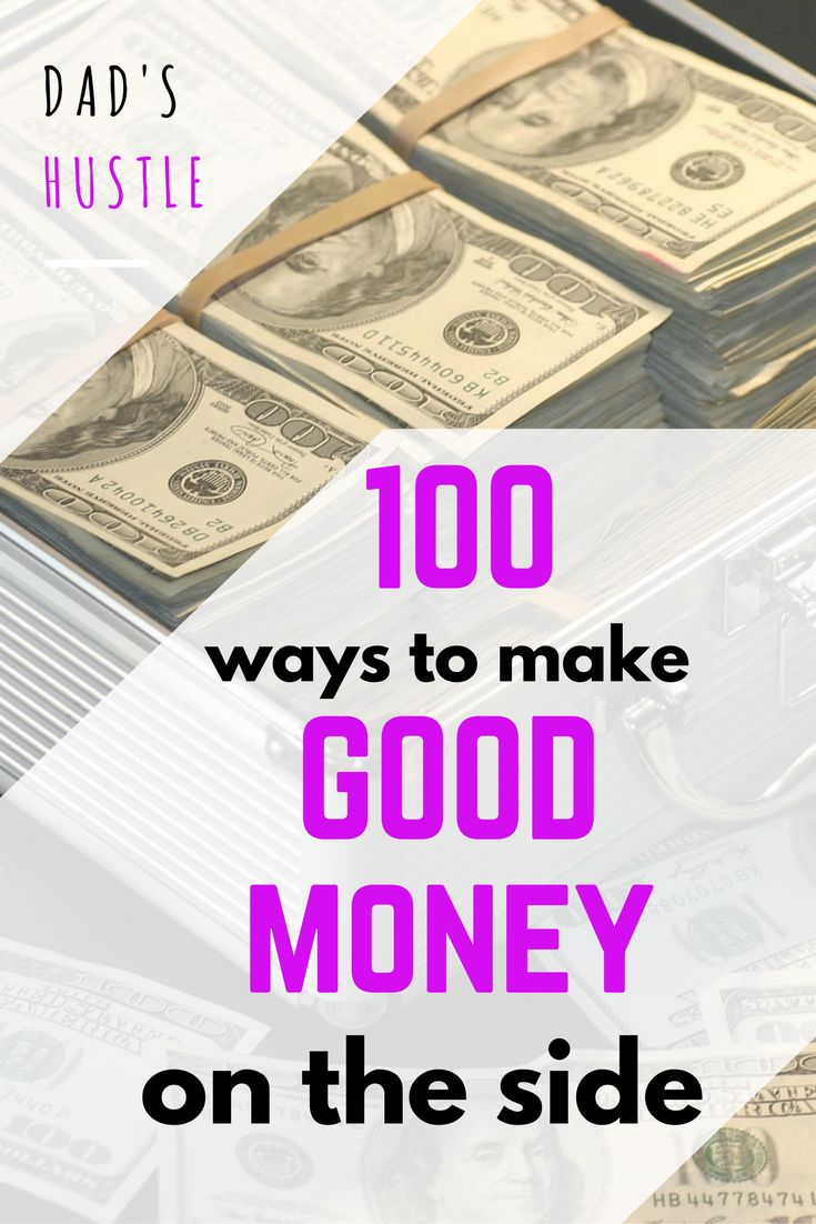 Top 100 Ways To Make Money: Wow, I love this mega-list of best ways to make money. It's a collection of all sorts of methods: selling your stuff, making money online, blogging, doing side jobs etc. I really hope you love it too! http://www.dadshustle.com/100-ways-to-make-money/ #makemoney