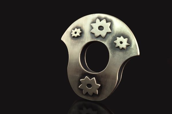 anel cangaceiro, prata 950. inspirado no nordeste brasileiro e na literatura de cordel.