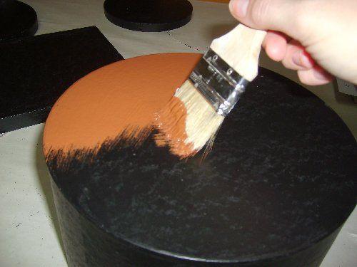 Prim Mart Crafter's Online Community - Distressed Paper Mache Boxes