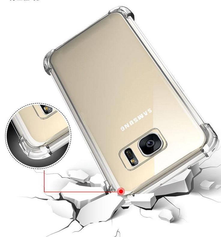 Anti Knock Case Fundas Clear Back For All Samsung Galaxy Samsung Samsung Accessories Samsung Galaxy