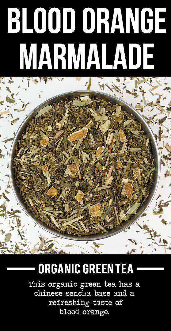 Blood Orange Marmalade (Organic Green Tea).