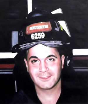 Thomas Anthony Casoria Engine 22. Thomas was in WTC North Tower on 911 with his brothers from Engine 22 & Ladder 13.Thomas was assigned to help remove injured people from  North Tower near a staging area somewhere between the 26th and 30th floors. He had radioed to his Captain that he & 2 others of his company were assisting with the removal of several of these people.Thomas along with 8 other members from his firehouse were lost in the subsequent collapse of The North Tower.