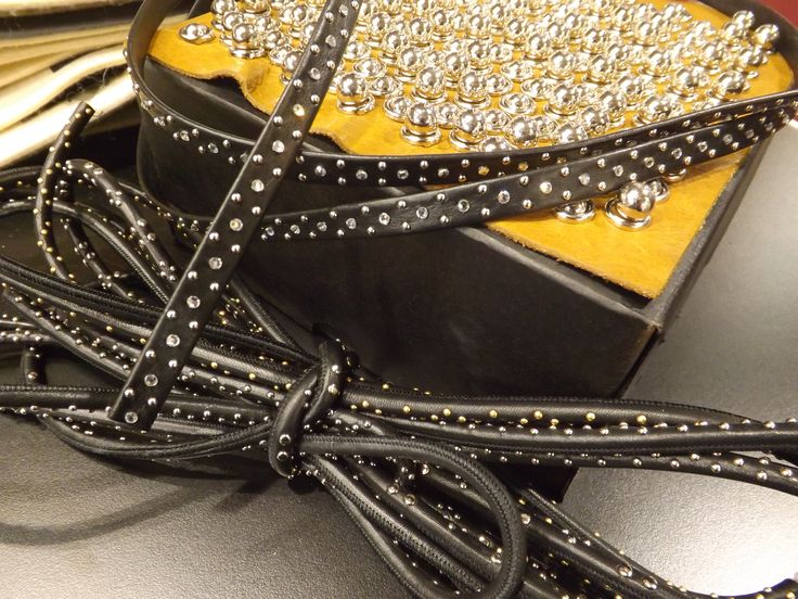 #accessories and #components #lineapellefair #ss17 #newtrends #studs
