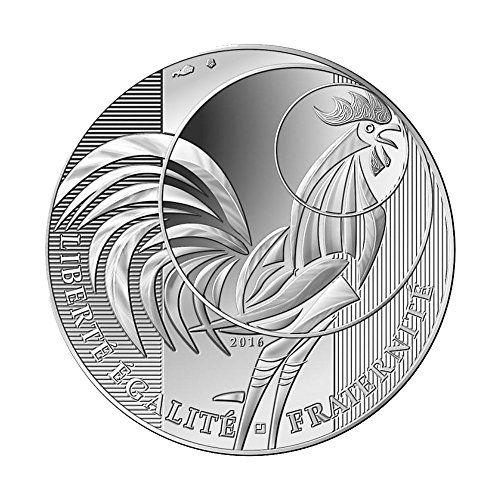 """10 Silber-EURO """"The Rooster"""" (Der Hahn) Frankreich 2016, ... https://www.amazon.de/dp/B01N2GTT2O/ref=cm_sw_r_pi_dp_x_vi6EybATW3ERT"""