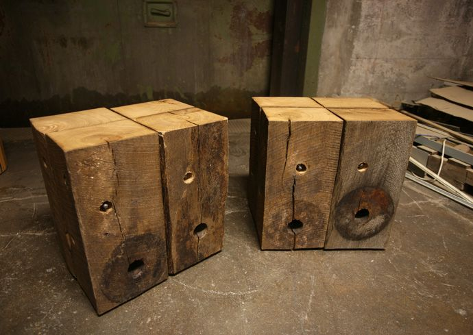 Reclaimed wood furniture by MP Custom Made for Icon Modern - 38 Best Images About Wall Treatment On Pinterest Red Cedar, Logs