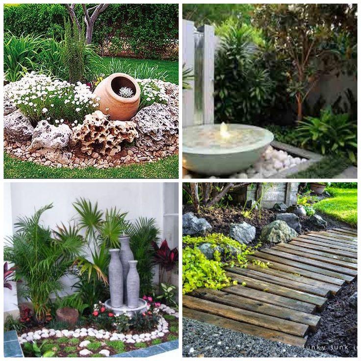352 best jardines exteriores e interiores images on for Ideas para jardines exteriores