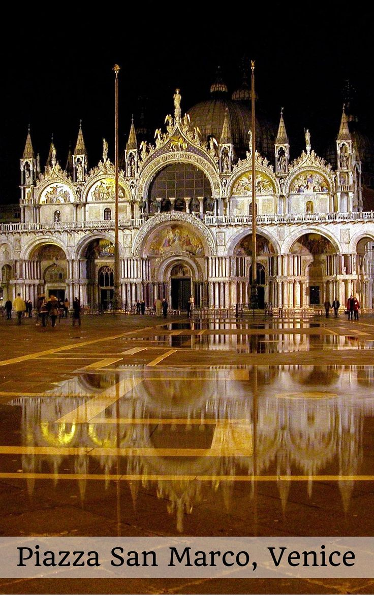 Piazza San Marco is one of Venice's most beautiful sightseeing spots (Free travel-guides to Italy)
