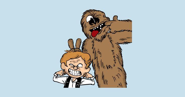 Han & Chewbacca - Chewbie - T-Shirt   TeePublic