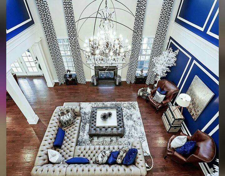 Areeisboujee Blue Living Room Blue Living Room Decor Silver Living Room Decor
