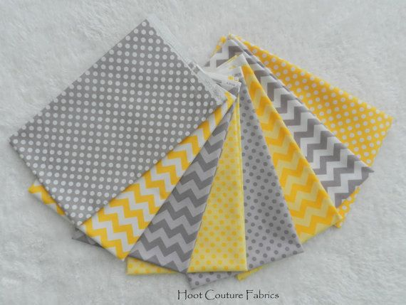 27 best images about yellow and gray nursery on pinterest for Yellow nursery fabric