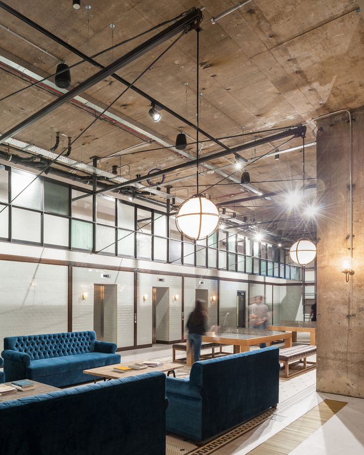Tigg Coll Architects has renovated the Chapter Kings Cross student living site with interiors designed to remind visitors of the area's railway heritage.