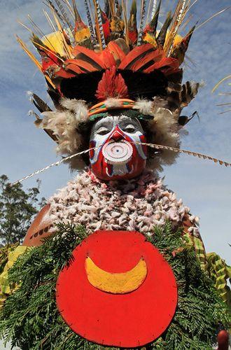 Mount Hagen show . Papua New Guinea